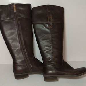 Tommy Hilfiger Brown Knee-high Boots Size 8